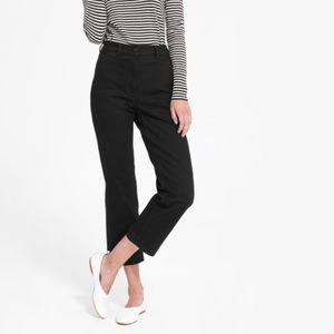 Everlane Straight Leg Crop High Rise Pant